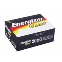 Energizer UltraPlus Batteries C Bulk Pack Ref 632914 [Pack 20]