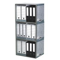 R-Kive System Archive Stax File Store W540xD400xH390mm Ref 01850 [Pack 5]