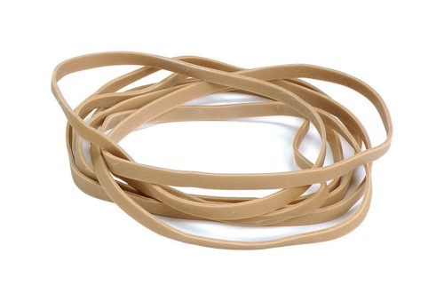 Quality Rubber Bands No.38 Each 152x3mm Ref  [Box 100g]