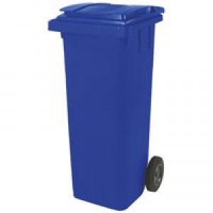 Wheelie Bin High Density Polythene with Rear Wheels 240 Litre