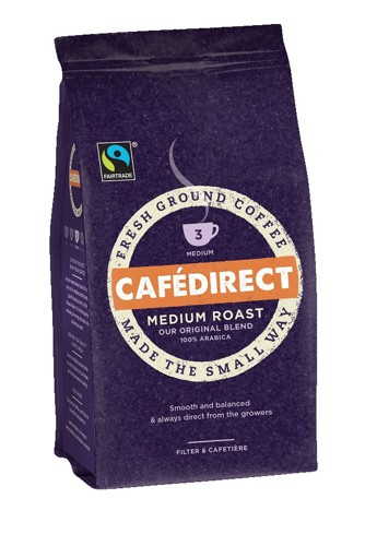 Cafe Direct Filter Coffee Medium Roast Smooth 227g Code A06728