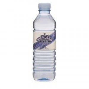 Highland Spring Water Still in Plastic Bottle 500ml Ref A01412 [Pack 24]