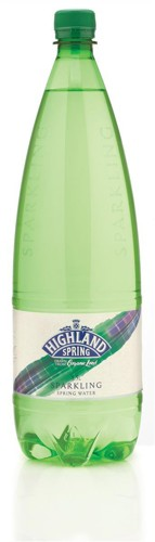 Highland Spring Water Sparkling in Plastic Bottle 1.5 Litre Ref A07229 [Pack 8]