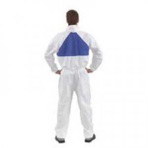 3M Basic Protective Coverall Lightweight Breathable Anti-asbestos EN1073-2 Extra Large Ref 4520XL