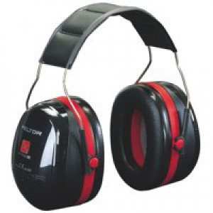 3M 1445 Optime III Headband Ear Muff Defenders High Noise Level Reduction 30dB Ref 4540A-411-SV