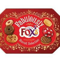 Foxs Fabulously Special Biscuits Chocolate or Cream Filling 11 Varieties Tin 730g Ref A07547