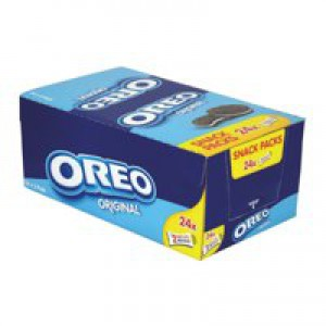 Oreo Mini Biscuits Chocolate-flavoured Sandwich with White Filling Twin Pack Code A03275