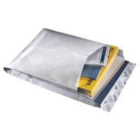 Tyvek Gusseted Envelopes Extra Capacity Strong E4 H406xW305xD50mm White Ref 758124P20 [Pack 20]