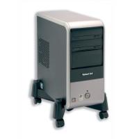 Image for CPU Stand Mobile Adjustable Width 30-255mm Black