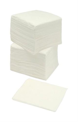 Napkins Economy Single Ply 300x300mm White [Pack 500]
