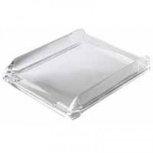 Rexel Nimbus Acrylic Letter Tray Clear Code 2101504