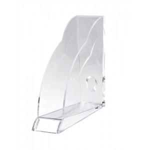 Rexel Nimbus Acrylic Magazine Rack Tranz Clear Code 2101499