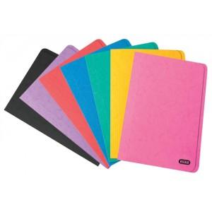Elba Boston Square Cut Folder Pressboard 300 micron for 32mm Foolscap Assorted Ref 100090267 [Pack 50]
