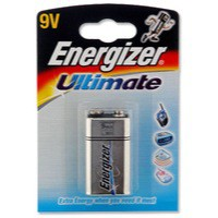 Energizer HighTech Battery Alkaline 6LR61 9V Ref 629781