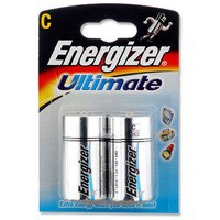 Energizer HighTech Battery Alkaline LR14 1.5V C Ref 629720 [Pack 2]