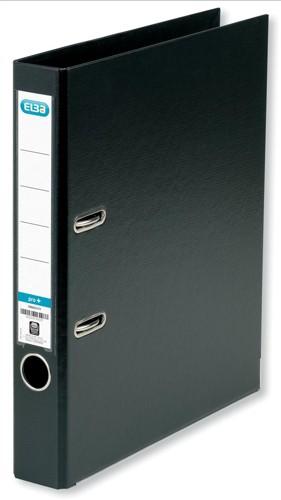 Elba Mini Lever Arch File PVC 50mm Spine A4 Black Ref 100080910 [Pack 10]