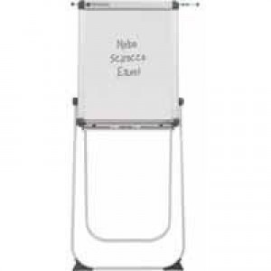Nobo Executive Scirocco Flipchart Easel With Extention Bars Drywipe Surface Code 33033412