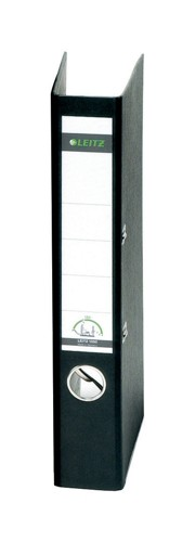 Leitz Standard Mini Lever Arch File 52mm Spine A4 Black Ref 1050-95 [Pack 10]