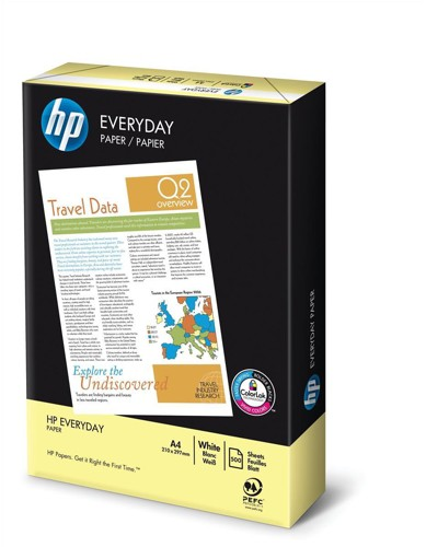 HP Everyday Paper PEFC Colorlok 75gsm A4 White White Code HPD0316