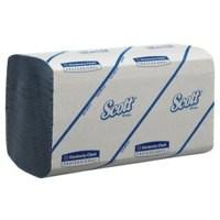 Scott Performance Hand Towels 180 Towel Sleeves Blue Ref 6660 [Pack 15]
