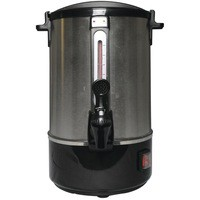 Catering Urn Locking Lid Water Gauge Boil Dry Overheat Protection 1650W 15 Litre