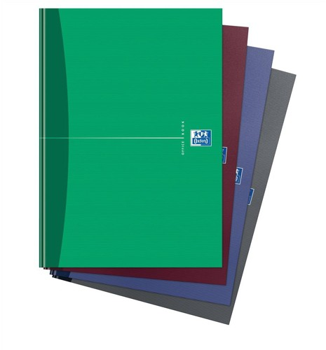 Oxford Office A5 Notebook Casebound Hard Cover Ruled 192 Pages 90gsm Assorted Code 100103072