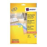 Avery Media Labels Laser 35mm Film Slides 84 per Sheet 46.0x11.1mm Ref L7656-25 [2100 Labels]