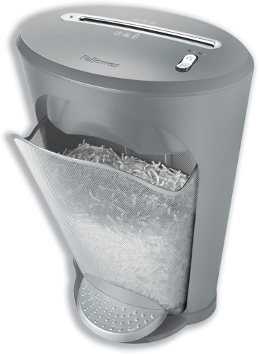 Fellowes DS-13C Personal Shredder 3.9x35mm Cross Cut 18 Litre 13x80gsm A4 W360xD280xH558mm Ref 3019901