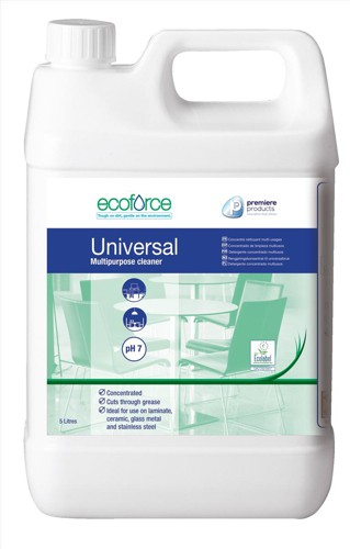 Ecoforce EcoLabel Multipurpose Cleaner 5 Litre Code 11500