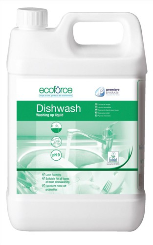 Ecoforce Washing Up Liquid 5 Litre Code 11506