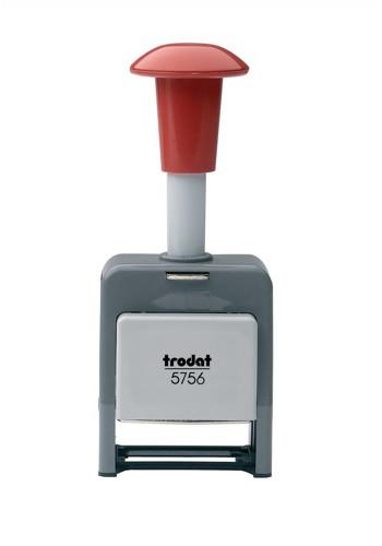 Trodat 5756/P Numberer Stamp Plastic Sequential Self-inking 8 Adjustments 5.5mm Digits Ref 86621