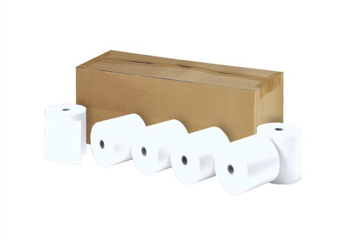 Printer Rolls Thermal 1 Ply W57xDiam30xCore12.7mm 9.1m [Pack 50]