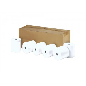 Printer Rolls Thermal 1 Ply W57xDiam50xCore12.7mm 20m [Pack 20]