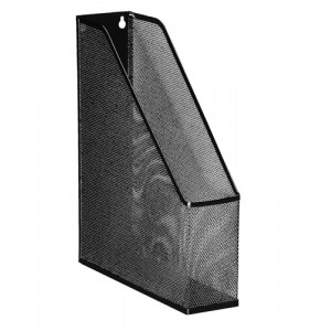 Mesh Magazine File Scratch Resistant with Non Marking Rubber Pads A4 Plus Black