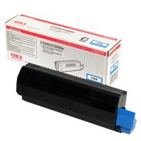 Oki C3200 Toner Cartridge High Yield Cyan 42804539