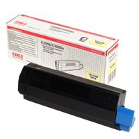Oki C3200 Toner Cartridge High Yield Yellow 42804537