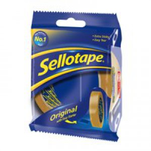 Sellotape Golden Tape 24mm x66M