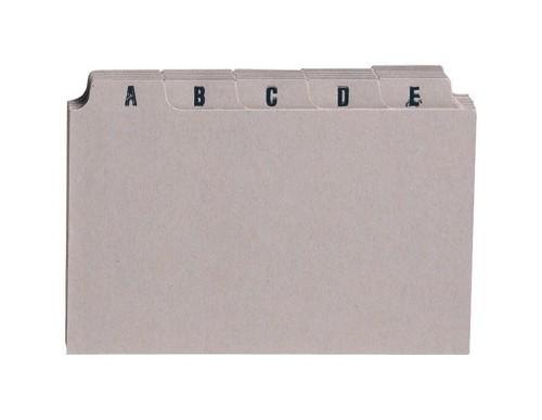 5 Star Guide Card Set 5x3 A-Z Buff