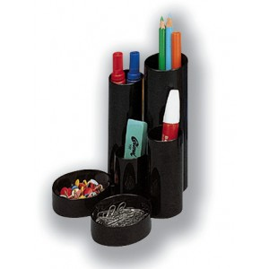 5 Star Desk Tidy Black