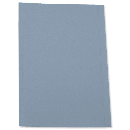5 Star Square Cut Folder 250g Fcp Blue