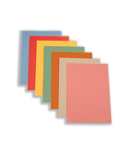 5 Star Square Cut Folder 250g Fcp Buff