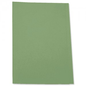 5 Star Square Cut Folder 250g Fcp green