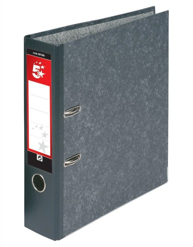 5 Star Lever Arch File A4 Cloud Cover