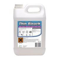2Work Thin Bleach 5 Litre
