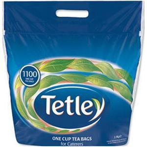 Tetley 1100 One Cup Teabags 1018g Promotion