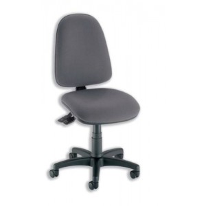 Trexus Office Operator Chair Asynchronous High Back H500mm W460xD430xH460-580mm Charcoal