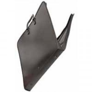 Goldline Portfolio Polypropylene with Interior Pocket Elastic Straps and Zip A1 Black Ref ZPC-A1Z