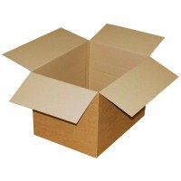 Packing Carton Single Wall Strong Flat Packed 178x178x178mm [Pack 25]