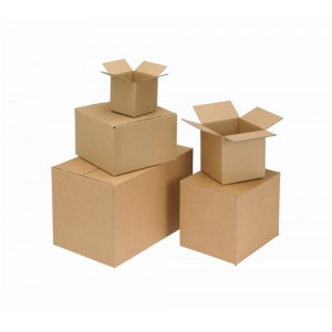 Packing Carton Single Wall Strong Flat Packed 279x279x178mm [Pack 25]