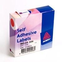 Avery Label 19MM Dia DISP1120 Rd 24-506